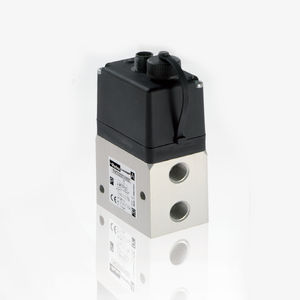 proportional pressure regulator / for air / single-stage / compact