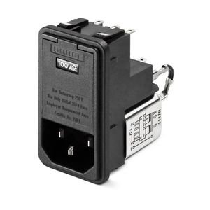 power entry module with EMI filter