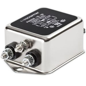 high-pass electronic filter / passive / EMI / screw-in