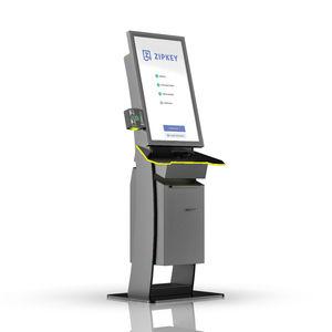 access control terminal / multitouch screen / kiosk / full HD
