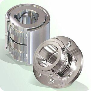 torsionally rigid coupling / gear / for shafts / transmission