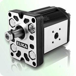 hydraulic gear pump / hydraulically-operated / high-efficiency / low-noise