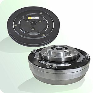 electromagnetic clutch / friction / toothed / hysteresis