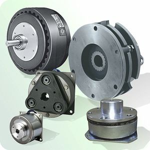 electromagnetic brake / multiple-disc / hysteresis / permanent magnet