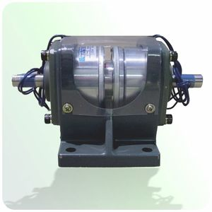 friction clutch and brake / electromagnetic / modular / with bearings