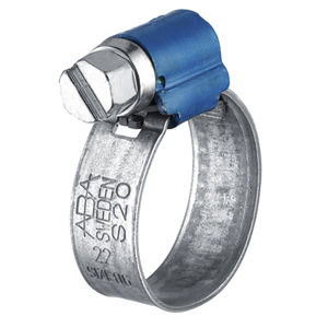 stainless steel hose clamp / screw / band / smooth
