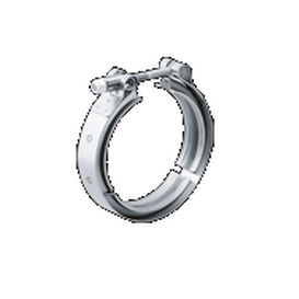 trunnion hose clamp / for automotive applications / V-band
