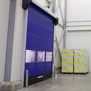 roll-up doors / indoor / for the food industry / high-speed