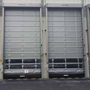 fold-up doors / exterior / high-speed / automatic