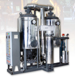 adsorption with heat compressed air dryer