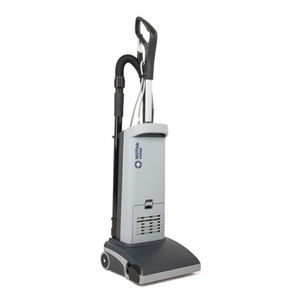 electric upright vacuum cleaner / commercial / mobile / with HEPA filter