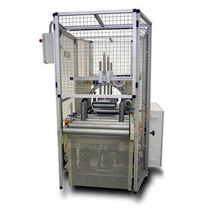horizontal wrapping machine / fully-automatic / for profiles / for long products