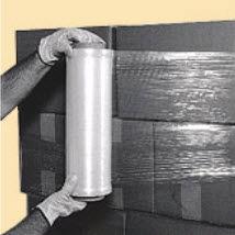 manual stretch film / roll / transparent