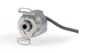 incremental rotary encoder / blind-shaft / miniature