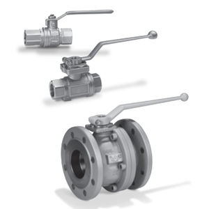 ball valve / lever / shut-off / for water
