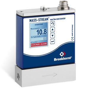 thermal mass flow meter / for gas / digital / direct-reading