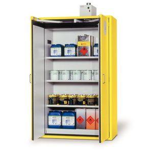 workshop cabinet / security / free-standing / double-door