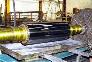 hard chrome plating / steel / copper / cast iron