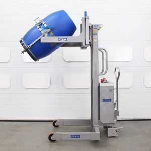 electric and hydraulic tipping station