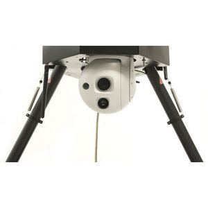 2-axis gyro-stabilized turret / for UAVs / lightweight / high performance and load