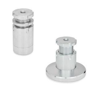 machine foot / stainless steel / steel / leveling