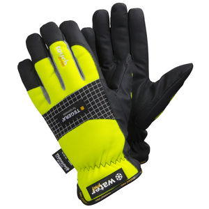 work gloves / wear-resistant / cold weather / synthetic leather