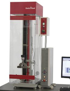 temperature test chamber / for materials testing machines / with window