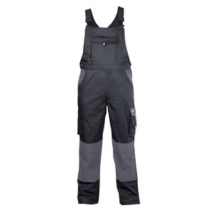 DASSY ® Calais Dungarees Work Trousers Work Pants Two Tone