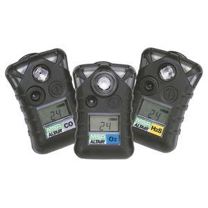 single gas detector / carbon monoxide / oxygen / hydrogen sulfide