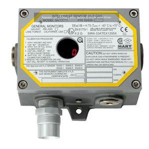 H2S detector / gas / Modbus / HART