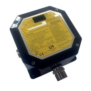 H2S detector / gas / LED / sensor
