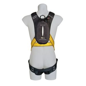 fall-arrest harness / dorsal fixation point / self-rescue / full-body