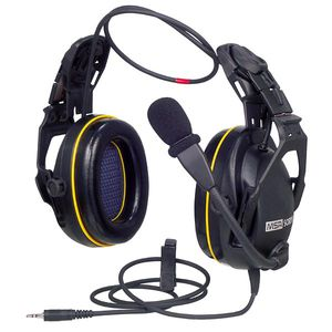 noise-cancelling two-way headset
