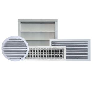 circular air diffuser / square / rectangular / ceiling