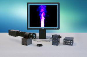 laser-induced fluorescence flow visualization system