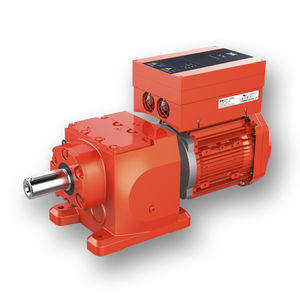 gearmotor with integrated frequency inverters