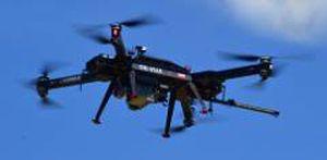 octorotor UAV / monitoring / for photogrammetry / gas detection