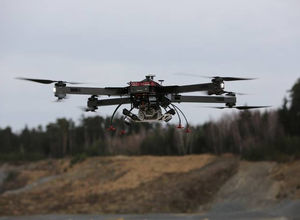 quadcopter UAV / inspection / monitoring / mapping