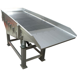 vibrating table for the food industry