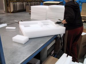 vibration packing material