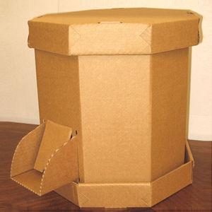 cardboard octabin