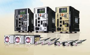 linear displacement sensor / non-contact / confocal laser / high-precision