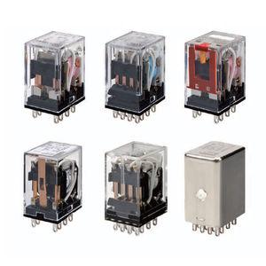 DC electromechanical relay / AC / plug-in / miniature