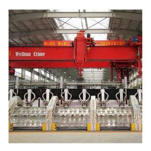 double-rail overhead traveling crane