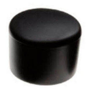 non-threaded end cap / round / ABS