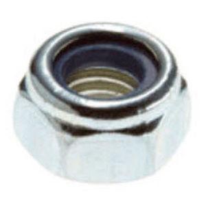 hexagonal nut / self-locking / stainless steel