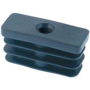 finned plug / rectangular / male / nylon