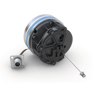analog draw-wire encoder / CANopen / SAE J1939 / redundant