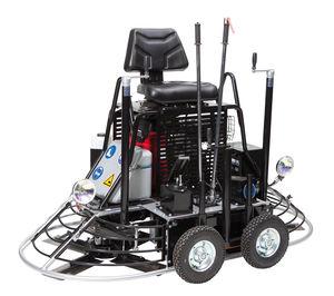 ride-on power trowel