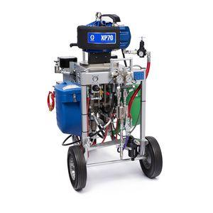 two-component paint spray unit
